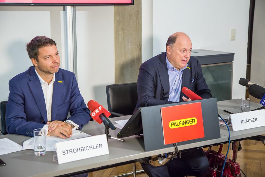 Bild 28 | Pressekonferenz PALFINGER AG
