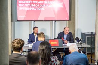 Bild 29 | Pressekonferenz PALFINGER AG