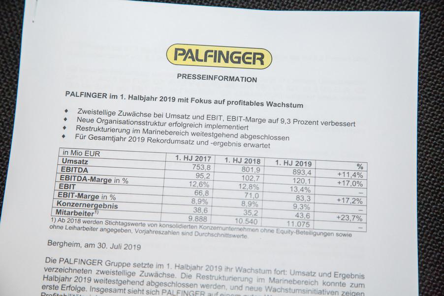 Bild 33 | Pressekonferenz PALFINGER AG