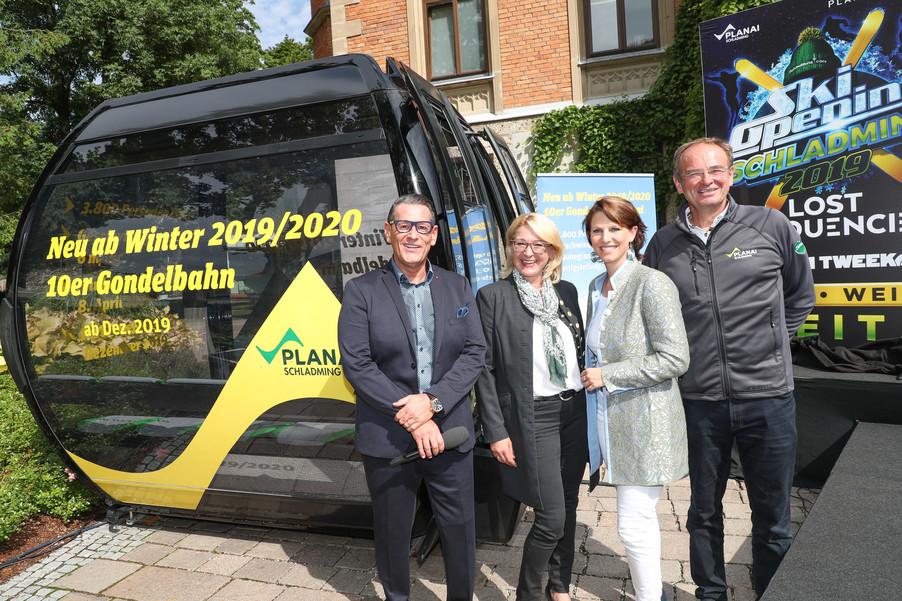 Bild 1   SCHALDMING - 2019-08-20 - Planai & Leutgeb Entertainment Group präsentieren das Line-Up vom Ski ...