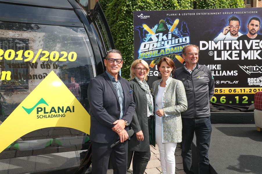 Bild 8   SCHALDMING - 2019-08-20 - Planai & Leutgeb Entertainment Group präsentieren das Line-Up vom Ski ...