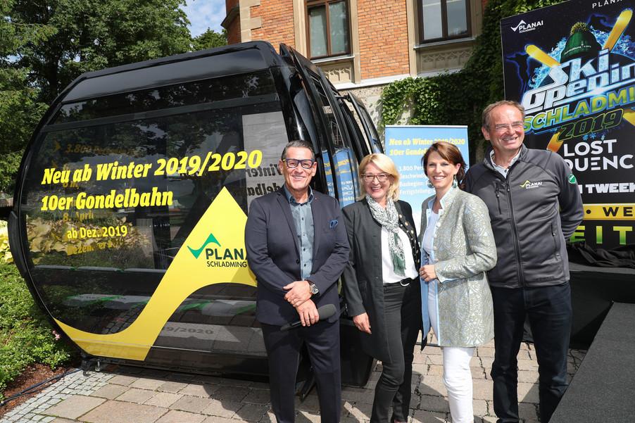 Bild 9   SCHALDMING - 2019-08-20 - Planai & Leutgeb Entertainment Group präsentieren das Line-Up vom Ski ...