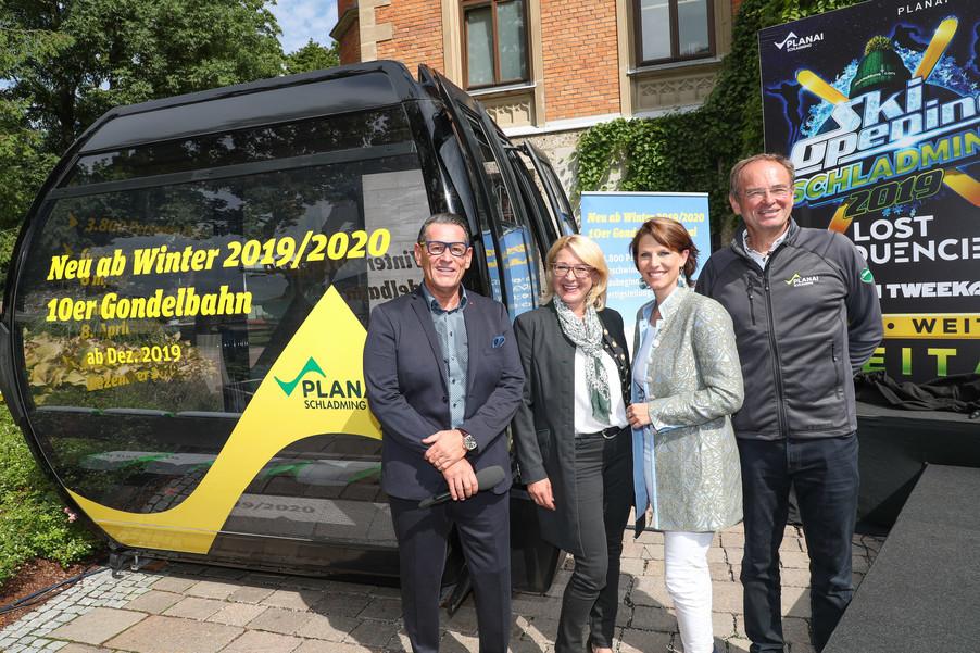 Bild 11   SCHALDMING - 2019-08-20 - Planai & Leutgeb Entertainment Group präsentieren das Line-Up vom Ski ...