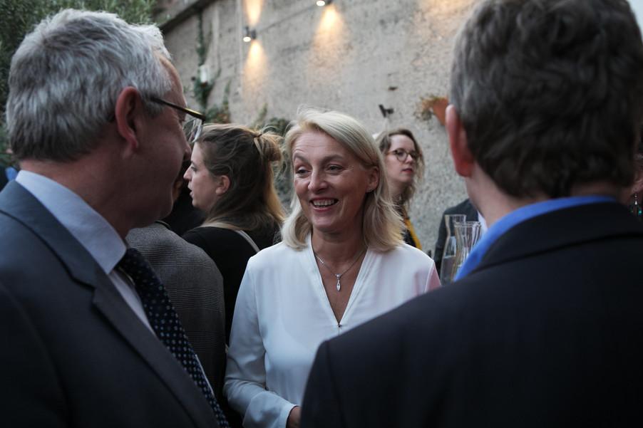 Bild 42   JournalistInnenheuriger mit Europaabgeordneten