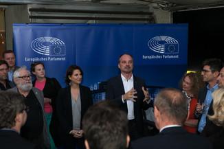 Bild 48   JournalistInnenheuriger mit Europaabgeordneten