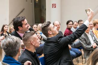 Bild 6 | Verleihungszeremonie des Programms Botschafterschulen des Europäischen Parlaments