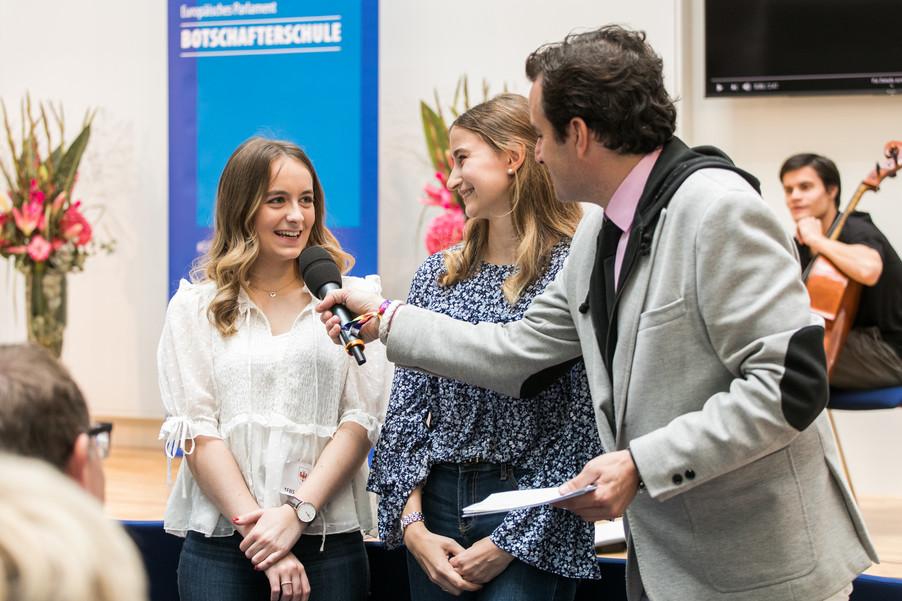 Bild 7 | Verleihungszeremonie des Programms Botschafterschulen des Europäischen Parlaments