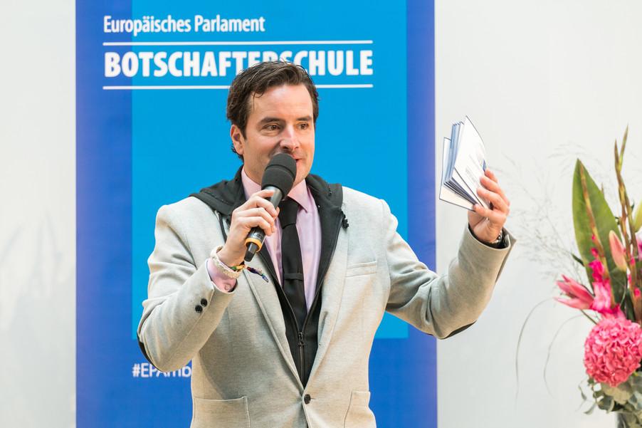 Bild 8 | Verleihungszeremonie des Programms Botschafterschulen des Europäischen Parlaments