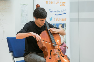 Bild 9 | Verleihungszeremonie des Programms Botschafterschulen des Europäischen Parlaments