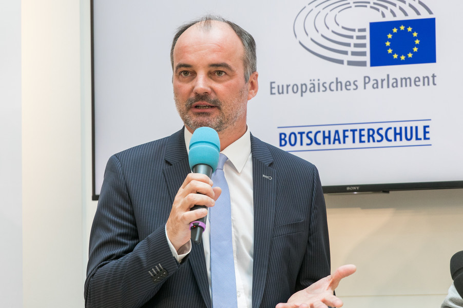 Bild 10 | Verleihungszeremonie des Programms Botschafterschulen des Europäischen Parlaments