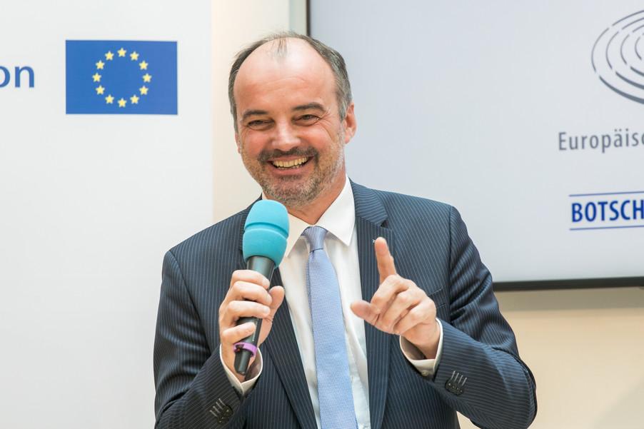Bild 11 | Verleihungszeremonie des Programms Botschafterschulen des Europäischen Parlaments