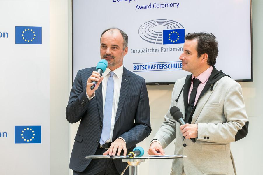Bild 12 | Verleihungszeremonie des Programms Botschafterschulen des Europäischen Parlaments