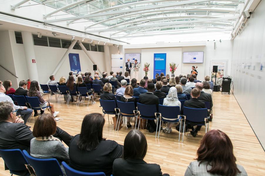 Bild 13 | Verleihungszeremonie des Programms Botschafterschulen des Europäischen Parlaments