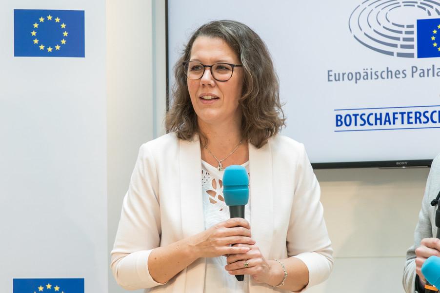Bild 15 | Verleihungszeremonie des Programms Botschafterschulen des Europäischen Parlaments