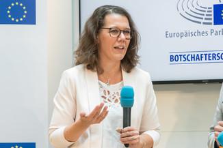Bild 16 | Verleihungszeremonie des Programms Botschafterschulen des Europäischen Parlaments