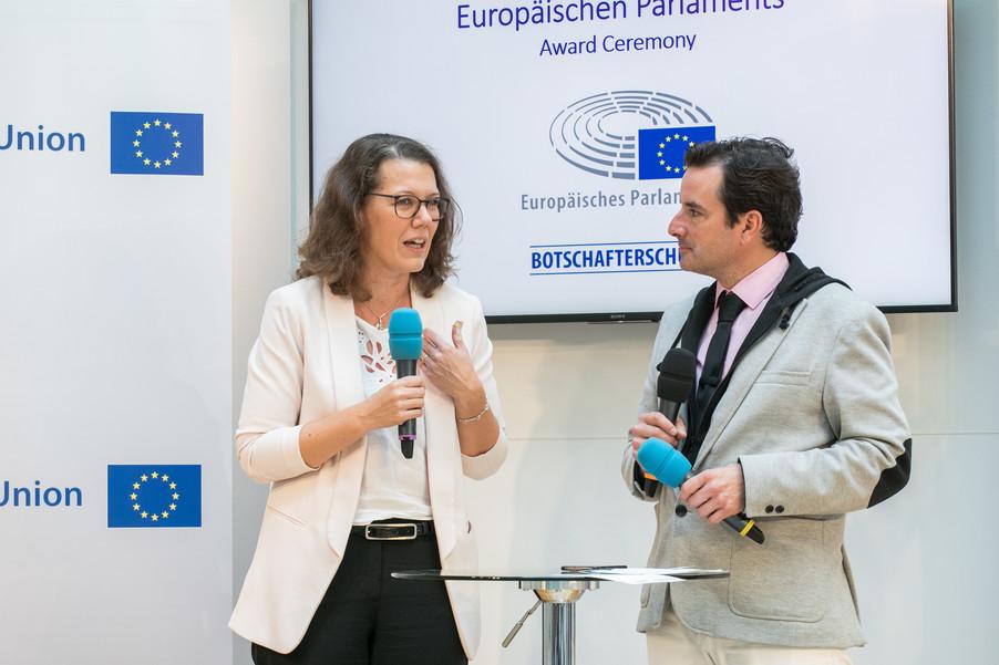 Bild 17 | Verleihungszeremonie des Programms Botschafterschulen des Europäischen Parlaments
