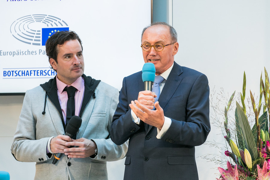 Bild 19 | Verleihungszeremonie des Programms Botschafterschulen des Europäischen Parlaments