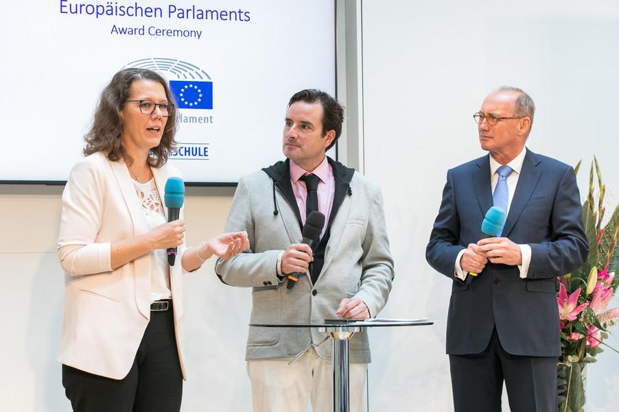 Bild 20 | Verleihungszeremonie des Programms Botschafterschulen des Europäischen Parlaments