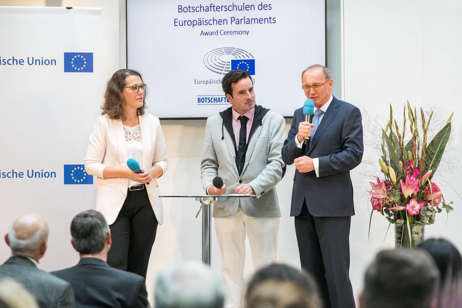 Bild 21 | Verleihungszeremonie des Programms Botschafterschulen des Europäischen Parlaments