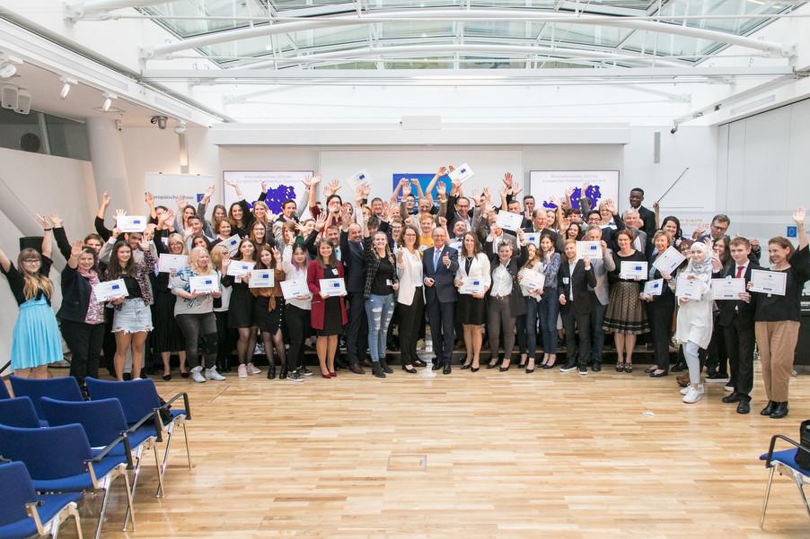 Bild 2 | Verleihungszeremonie des Programms Botschafterschulen des Europäischen Parlaments