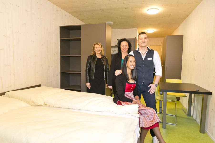 Bild 83   Löwen Hotel Montafon eröffnet neues Teamhaus