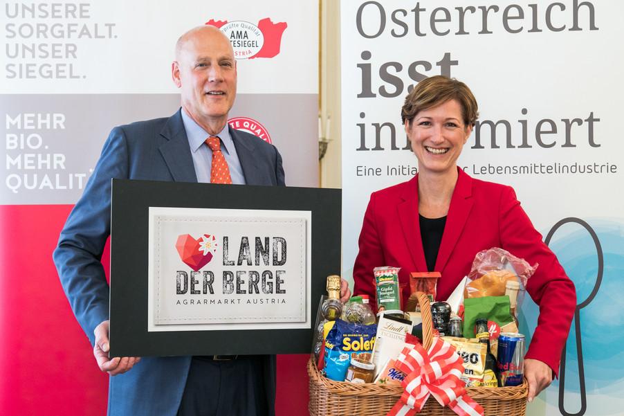 Bild 1   Europa im Fokus der österreichischen Agrar- und Lebensmittel-Exporte