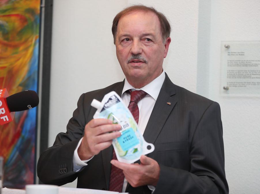 Bild 22   WALS/SALZBURG - 2019-10-24: Bilanzpressekoferenz DM Drogeriemarkt in der Firmenzentrale in Wals bei ...