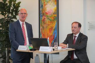 Bild 25   WALS/SALZBURG - 2019-10-24: Bilanzpressekoferenz DM Drogeriemarkt in der Firmenzentrale in Wals bei ...