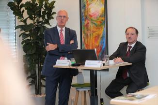 Bild 26   WALS/SALZBURG - 2019-10-24: Bilanzpressekoferenz DM Drogeriemarkt in der Firmenzentrale in Wals bei ...