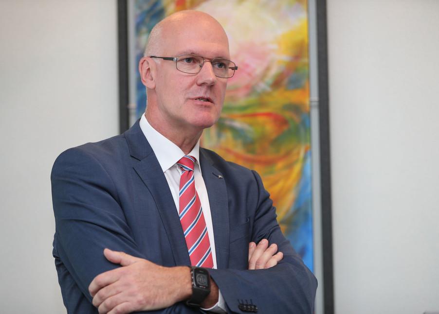 Bild 28   WALS/SALZBURG - 2019-10-24: Bilanzpressekoferenz DM Drogeriemarkt in der Firmenzentrale in Wals bei ...
