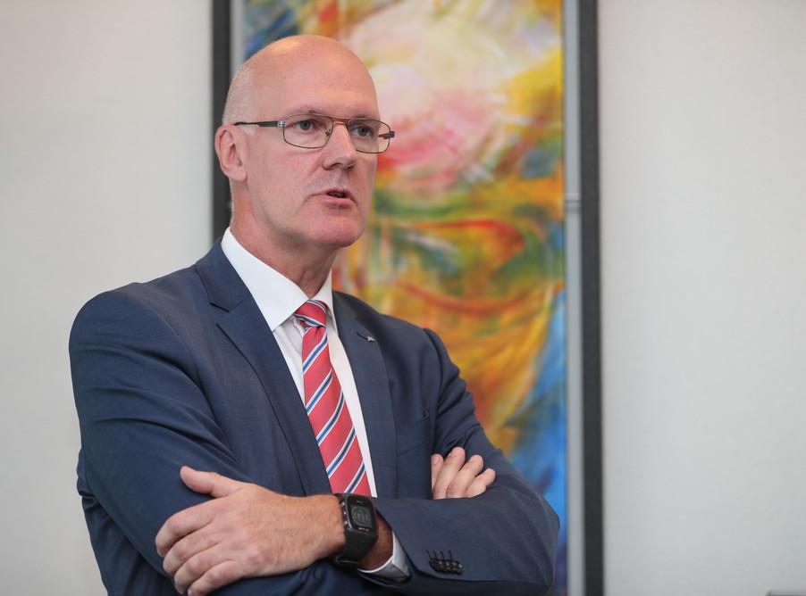 Bild 29   WALS/SALZBURG - 2019-10-24: Bilanzpressekoferenz DM Drogeriemarkt in der Firmenzentrale in Wals bei ...