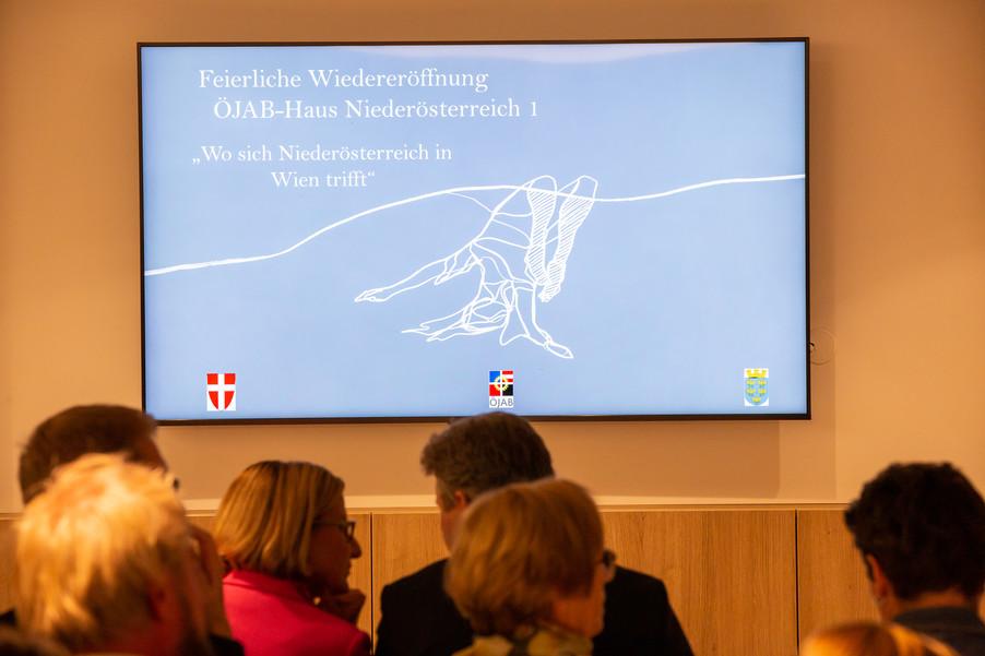 Bild 2 | Feierliche Wiedereröffnung des Studierendenwohnheims ÖJAB-Haus Niederösterreich 1 in Wien: ...
