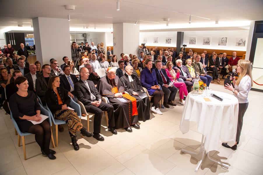 Bild 22 | Feierliche Wiedereröffnung des Studierendenwohnheims ÖJAB-Haus Niederösterreich 1 in Wien: ...