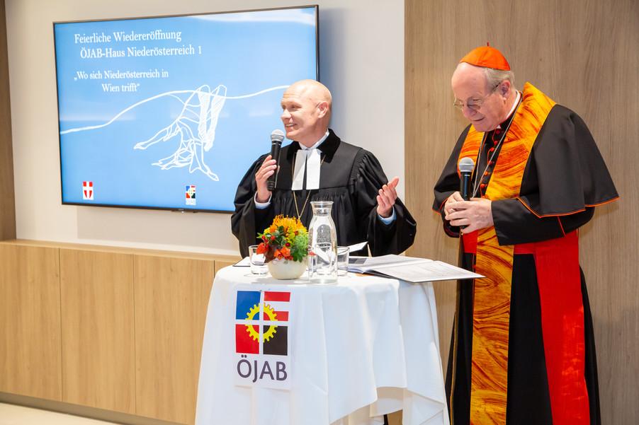 Bild 24 | Feierliche Wiedereröffnung des Studierendenwohnheims ÖJAB-Haus Niederösterreich 1 in Wien: ...
