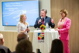 Bild 54 | Feierliche Wiedereröffnung des Studierendenwohnheims ÖJAB-Haus Niederösterreich 1 in Wien: ...