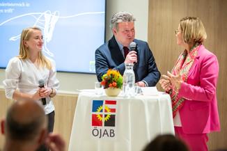 Bild 55 | Feierliche Wiedereröffnung des Studierendenwohnheims ÖJAB-Haus Niederösterreich 1 in Wien: ...