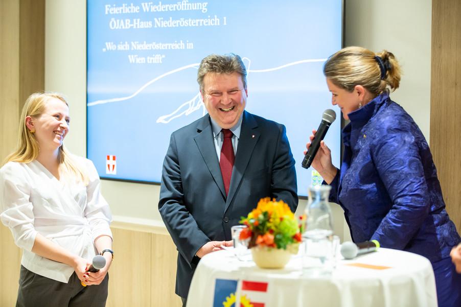 Bild 65 | Feierliche Wiedereröffnung des Studierendenwohnheims ÖJAB-Haus Niederösterreich 1 in Wien: ...