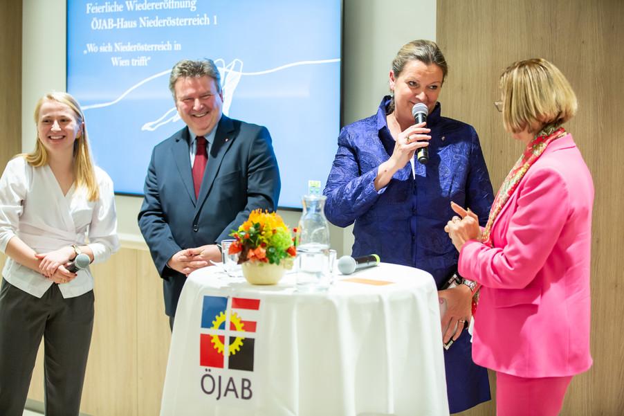 Bild 66 | Feierliche Wiedereröffnung des Studierendenwohnheims ÖJAB-Haus Niederösterreich 1 in Wien: ...