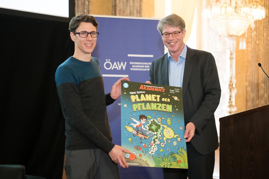 Bild 3   Comic-Tag an der Österreichischen Akademie der Wissenschaften