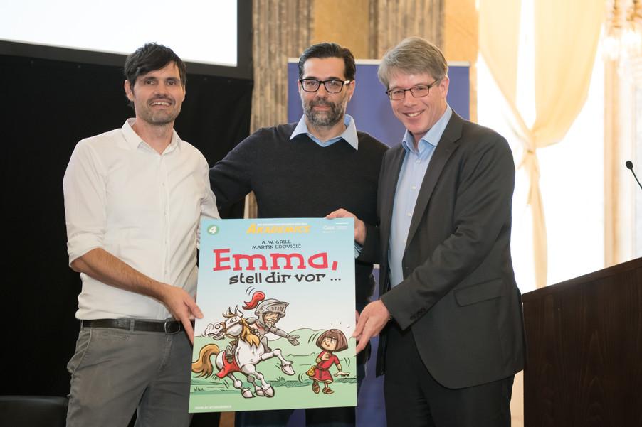 Bild 5   Comic-Tag an der Österreichischen Akademie der Wissenschaften