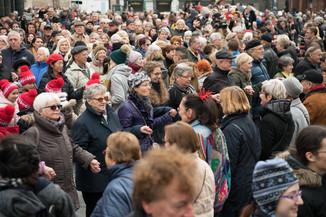 Bild 41   Faschingsbeginn mit den Wiener Tanzschulen: Stephansplatz wird zum größten Open-Air-Tanzsaal ...