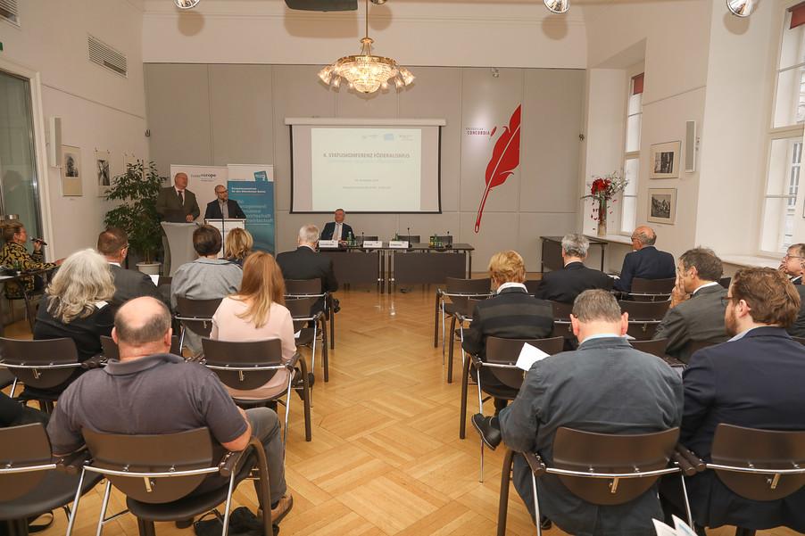 Bild 12 | 4. Statuskonferenz Föderalismus zum Thema