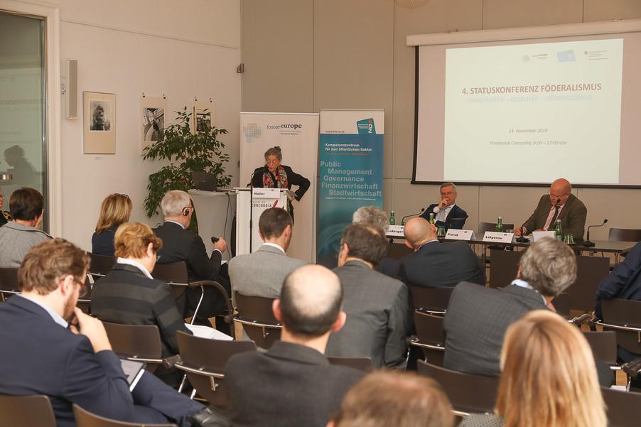 Bild 26 | 4. Statuskonferenz Föderalismus zum Thema