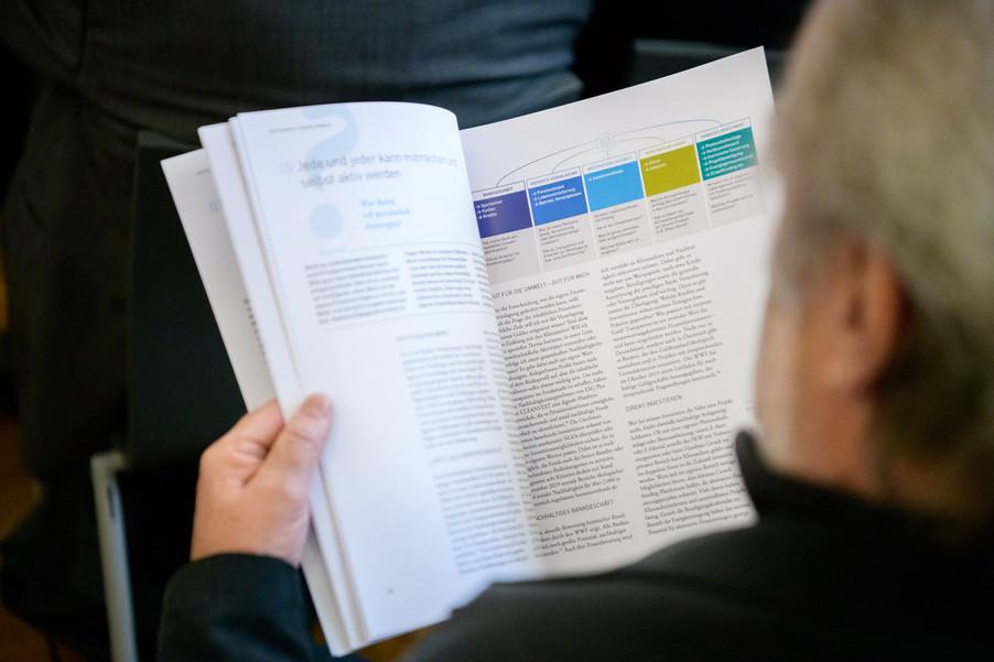 Bild 7 | Präsentation des Faktenchecks Green Finance