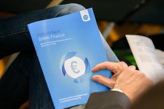 Bild 17 | Präsentation des Faktenchecks Green Finance
