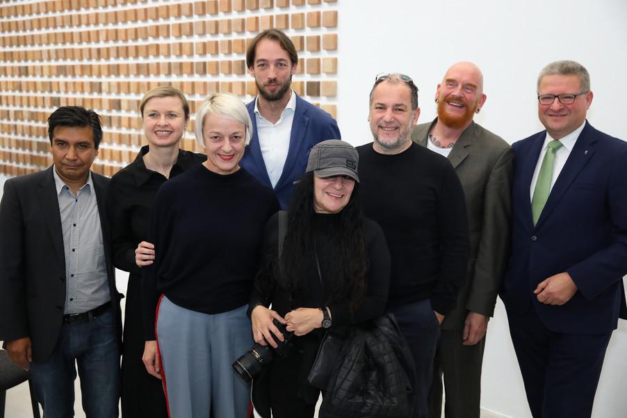 Bild 1 | Ausstellungseröffnung: Adrian Paci. Lost Communities & Teresa Margolles