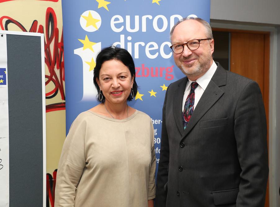 Bild 2 | SALZBURG - 2019-11-25: Die EU und die Medien Europapolitische Bildungsarbeit im ...