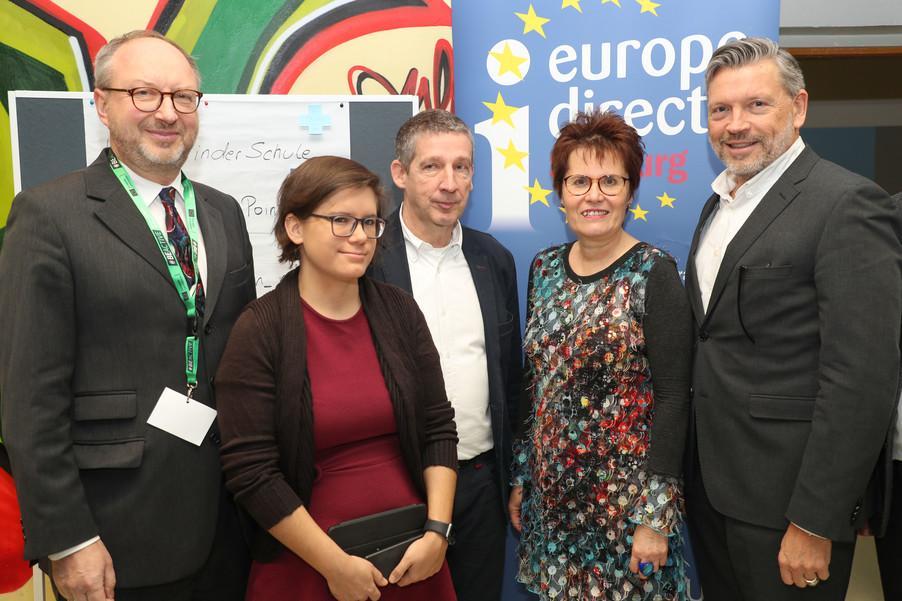 Bild 7 | SALZBURG - 2019-11-25: Die EU und die Medien Europapolitische Bildungsarbeit im Klassenzimmer Im ...