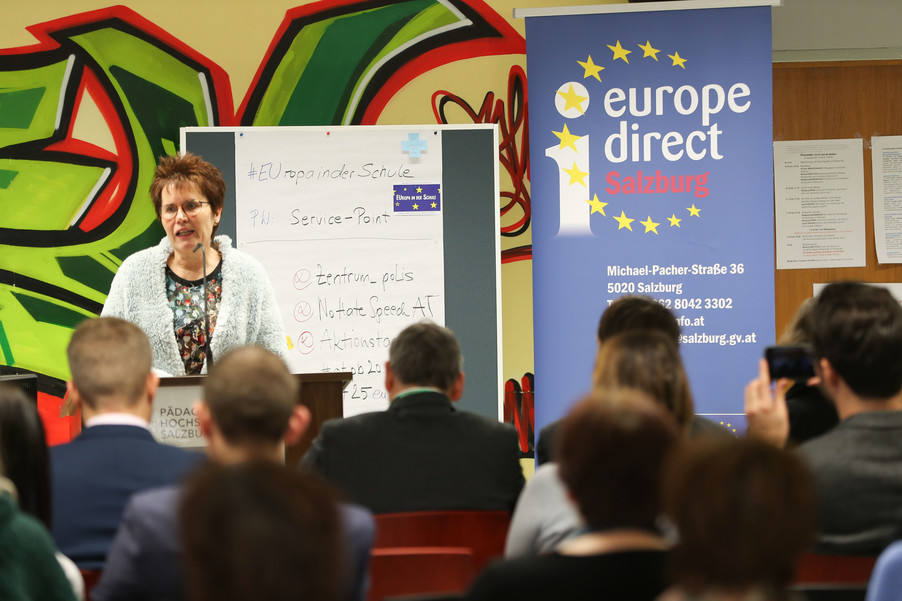 Bild 13 | SALZBURG - 2019-11-25: Die EU und die Medien Europapolitische Bildungsarbeit im ...