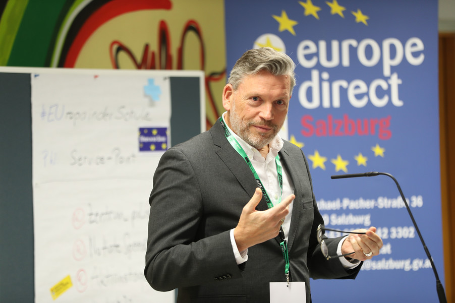 Bild 18 | SALZBURG - 2019-11-25: Die EU und die Medien Europapolitische Bildungsarbeit im ...